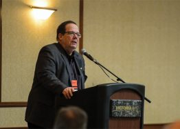 Speaker at the Manitoba Canola Growers Association's Annual General Meeting
