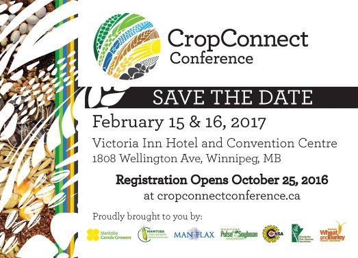 CropConnet Conference - Save the Date - February 15 & 16, 2017