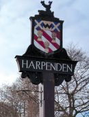 Harpenden steet sign