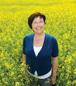 The aim with Canola Camp, says Shaunda Durance-Tod, is to develop canola ambassadors.