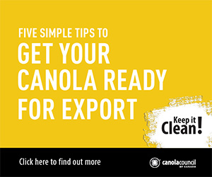 Five simple tips to get your canola ready for export