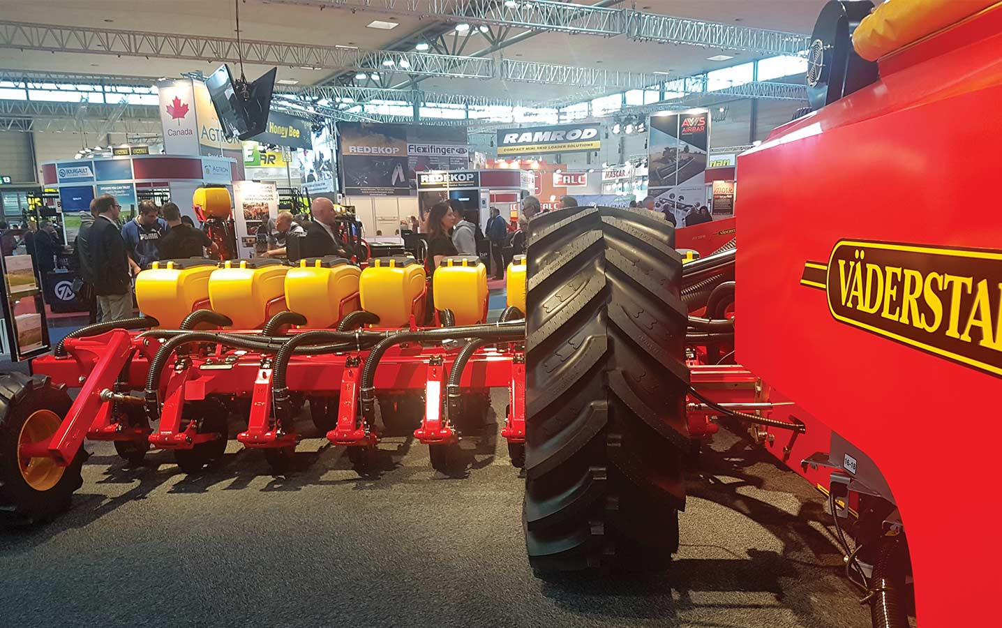 Agritechnica show in Hanover