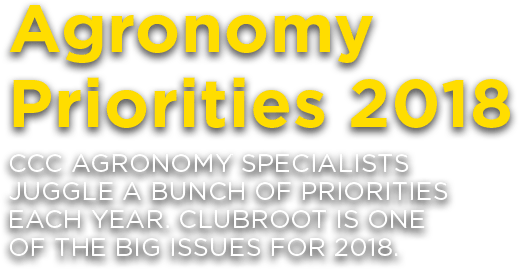 Agronomy Priorities 2018: CCC Agronomy Specialists Juggle A Bunch Of Priorities Each Year. Clubroot Is One Of The Big Issues For 2018.