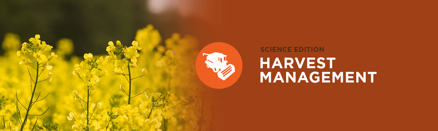 Science Edition: Harvest Management