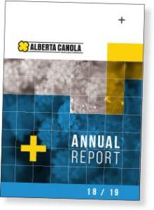 Alberta Canola Annual Report